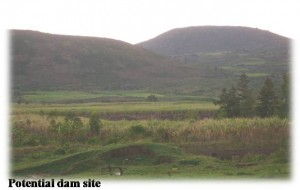 Koru dam site photo