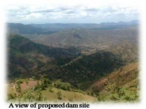 Muruny dam site